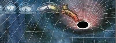 Gambaran Black Hole -  Harun Yahya