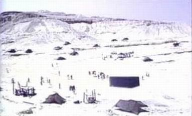 Lembah Bakkah (Mekah) dan Baitullah jaman dahulu kala