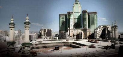 Mega Proyek di depan Majidil Haram Mekah