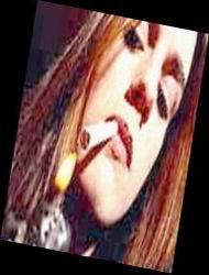 perokok cantik