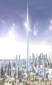 Rencana Menara Dubai 709 Meter 160 lantai